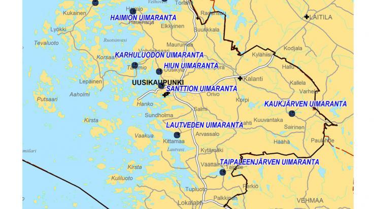 Uimarannat Visit Uusikaupunki